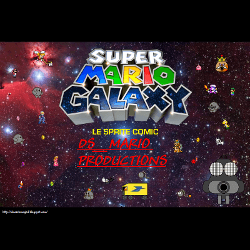 Super Mario Galaxy : Le Sprite Comic