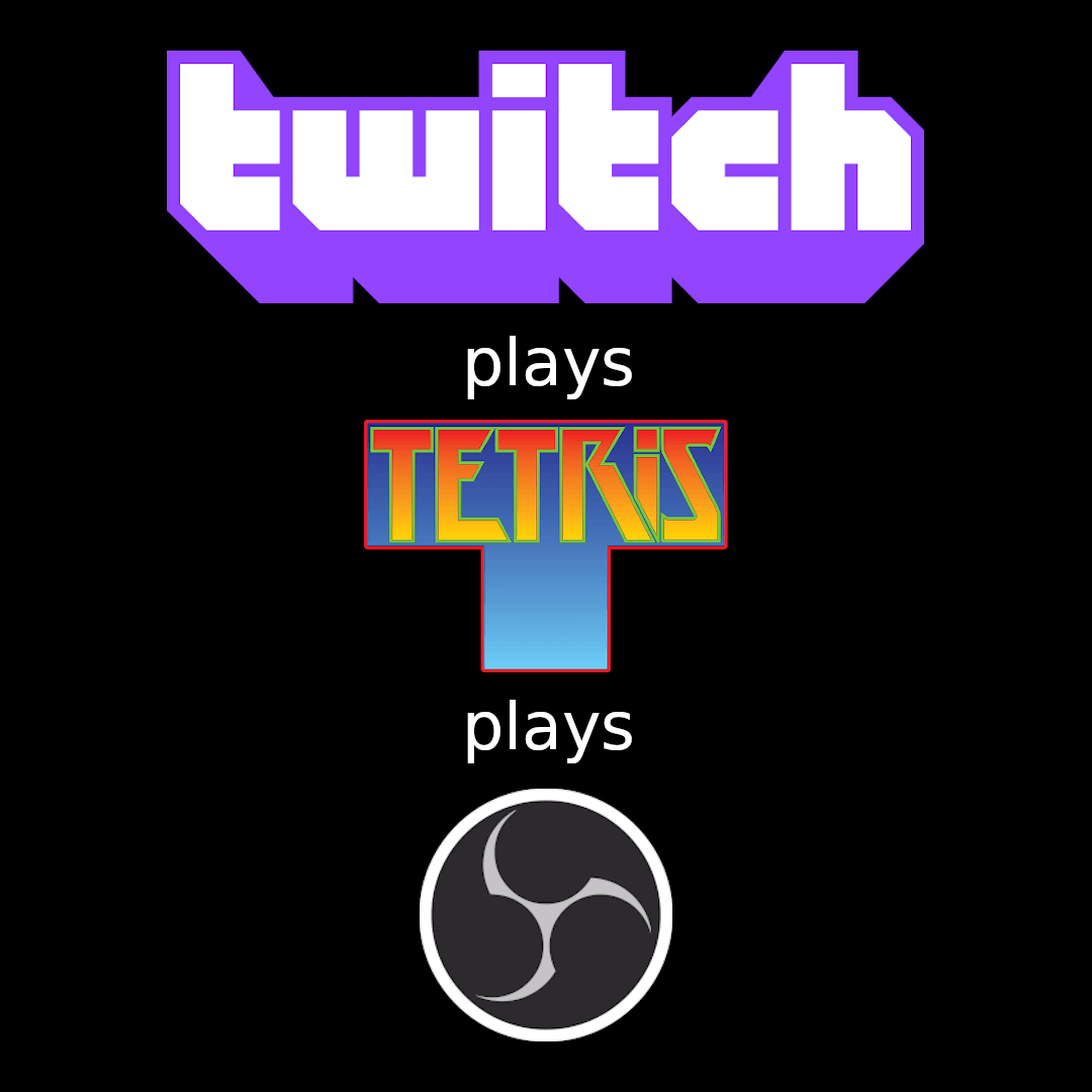 Twitch Plays Tetris Plays OBS